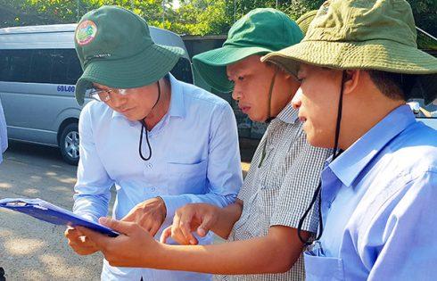 Lãnh đạo tỉnh Đồng Nai khảo sát về việc thu hồi đất cho sân bay Long Thành