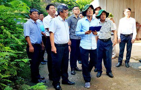 Lãnh đạo tỉnh Đồng Nai khảo sát về việc thu hồi đất cho sân bay Long Thành 2