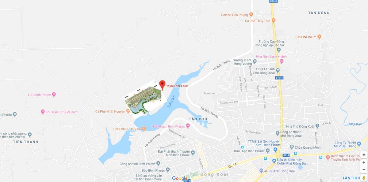 Royal Star Lake: Khu đô thị được mong đợi tại Bình Phước 2