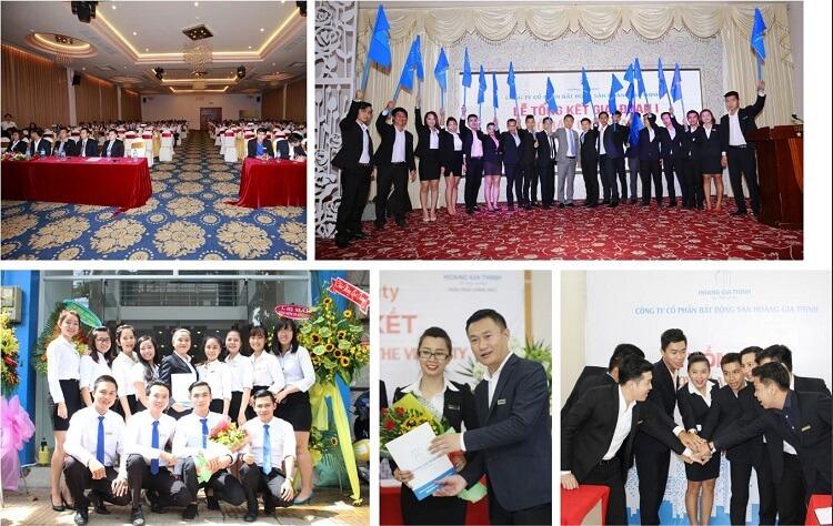 Đội ngũ nhân viên giàu kinh nghiệm, nhiệt huyết, có niềm đam mê với ngành bất động sản