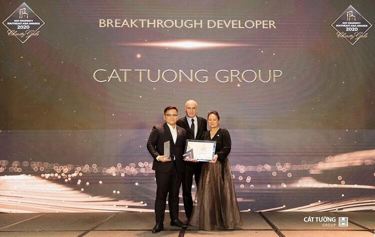 Cát Tường Group - Nhà phát triển Bất động sản đột phá nhất Đông Nam Á