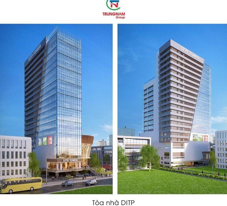 Tòa nhà công ty bất động sản Trung Nam Group