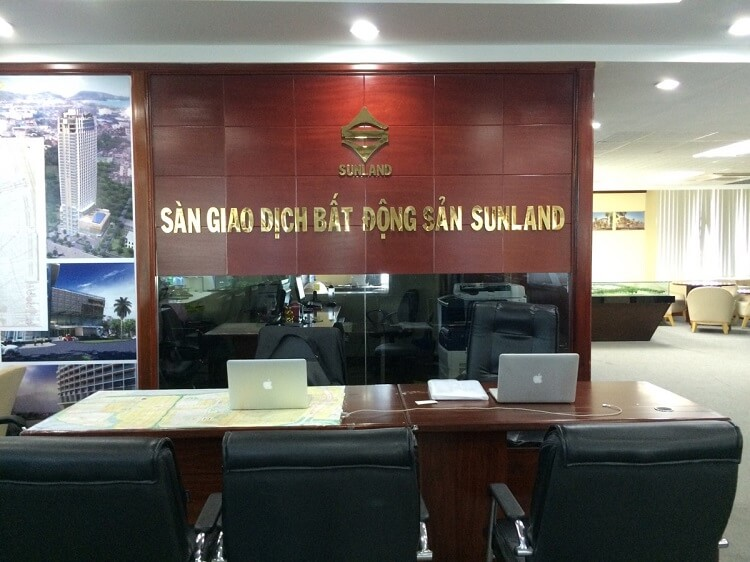 Văn phòng sàn giao dịch bất động sản Sunland
